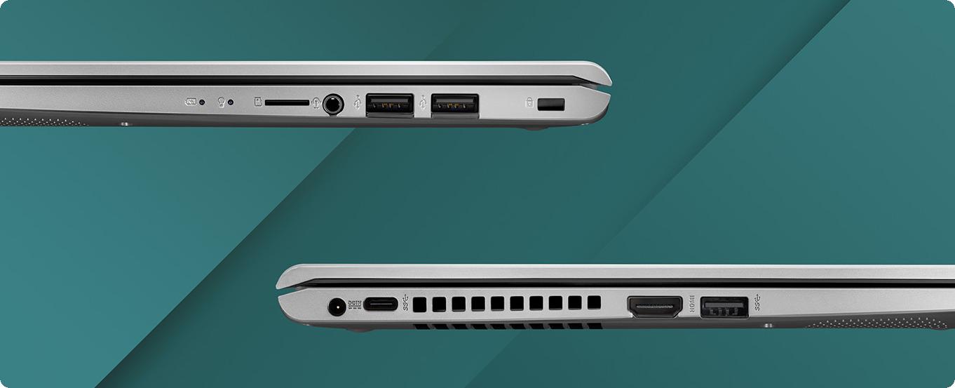 Laptop ASUS D515UA- được trang bị cổng USB-C
