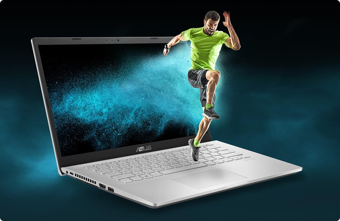 Laptop ASUS D409DA-EK152T có tuổi thọ gấp 3 lần pin lithium-ion