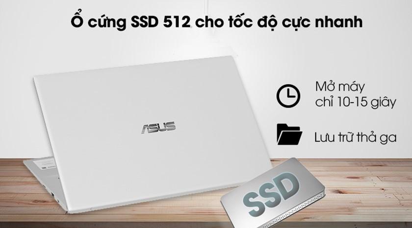 Với ổ cứng 512GB SSD