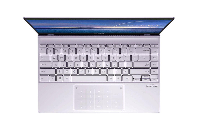 ZenBook 14 UX425EA-BM066T có thiết kế bàn phím công thái học