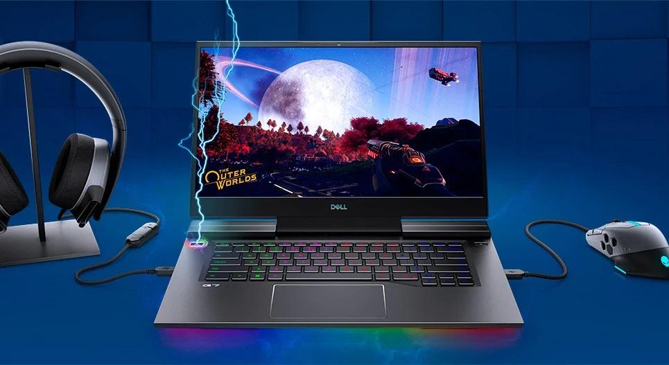 Laptop Dell Gaming G7 7500 G7500A Đồ họa đắm chìm
