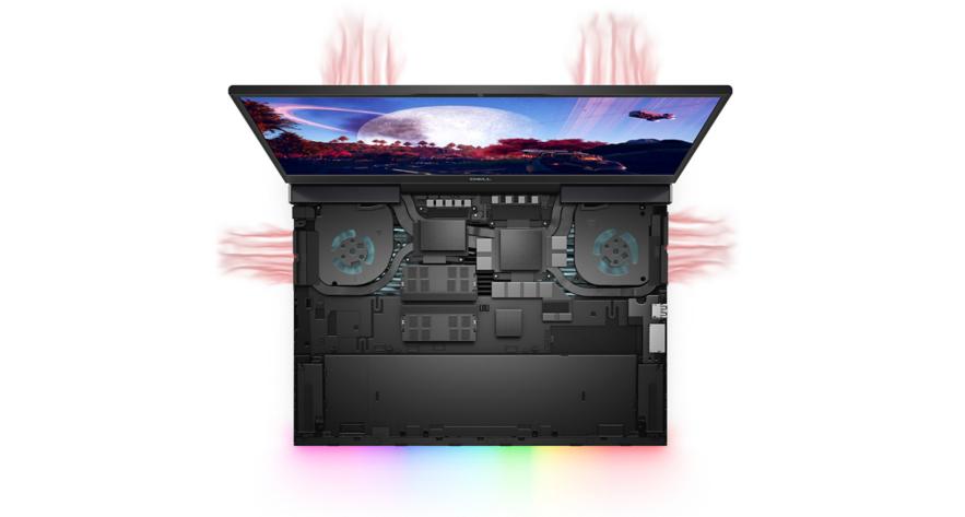 Dell Gaming G7 7500 G7500A Nhiệt luôn mát