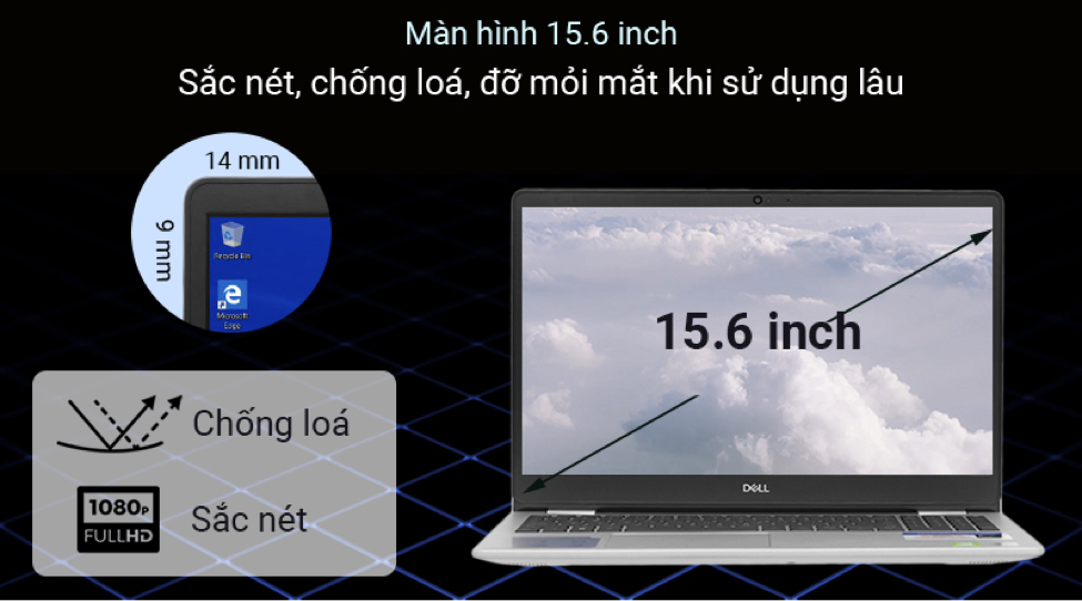 Laptop Dell Inspiron 3593 70205744