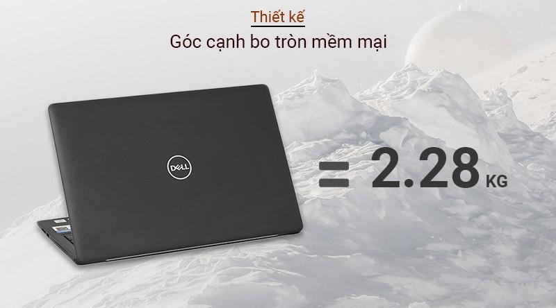 Dell Inspiron 3593 70211826 được thiết kế với khối lượng chỉ nặng 2,2kg