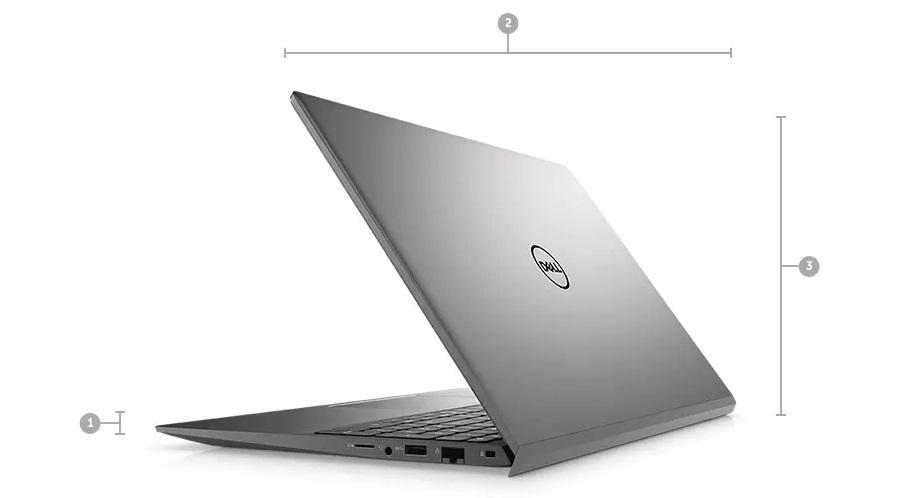 Laptop Dell Vostro 5502 NT0X01 Kích thước & Trọng lượng