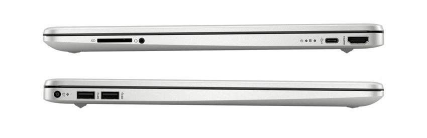 Laptop HP 15s-fq1107TU 193Q3PA được trang bị cổng USB Type-C