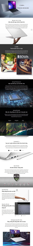 Laptop LG gram 15ZD90N-V.AX56A5 overview