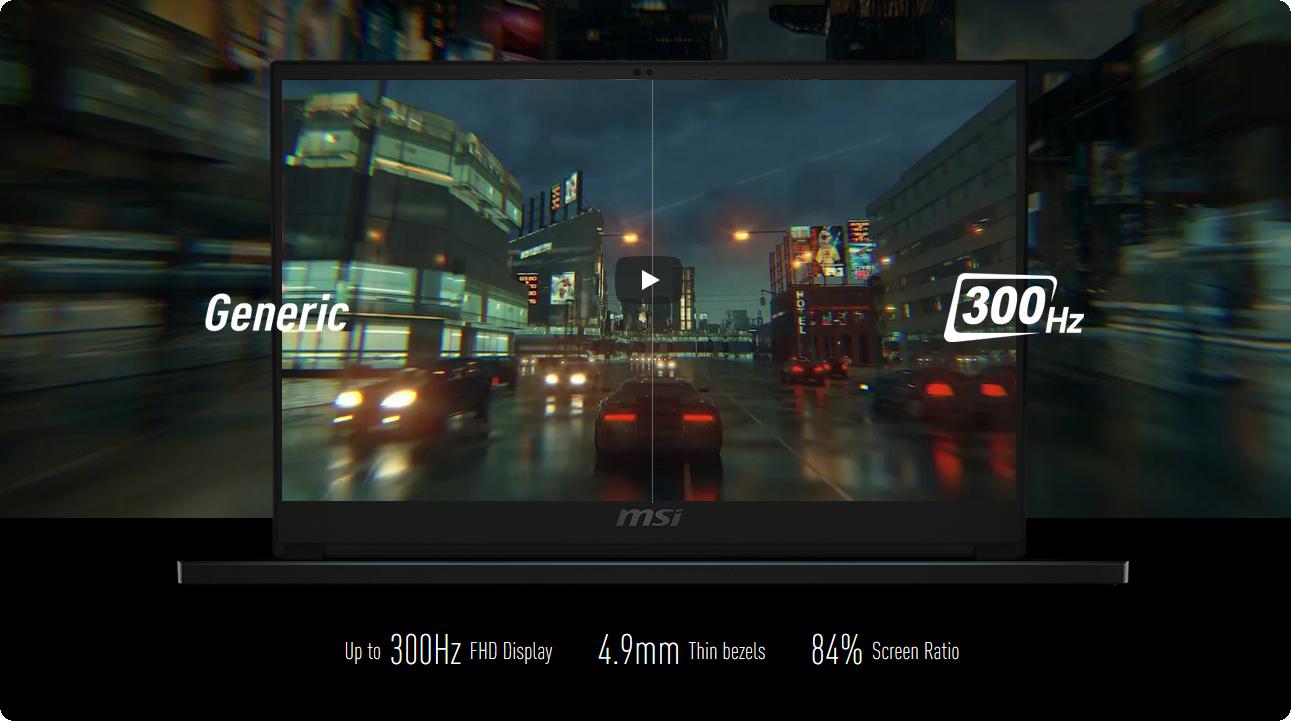 chơi game cùng máy tính xách tay MSI GE66 Raider 10SFS-474VN