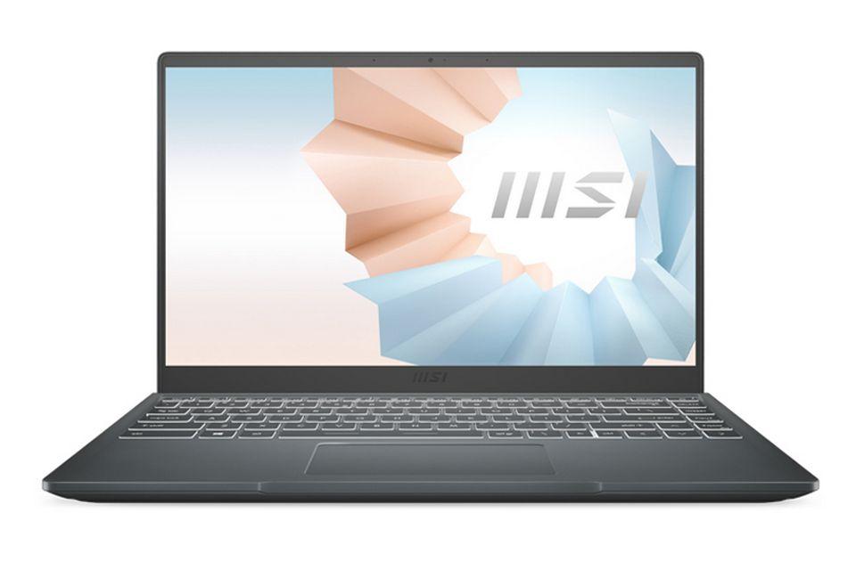 Laptop MSI Modern 14 B11M 073VN có bộ xử lý Intel Core i7-1165G7
