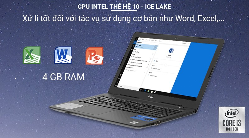 Laptop Dell Inspiron 3593 N3593C