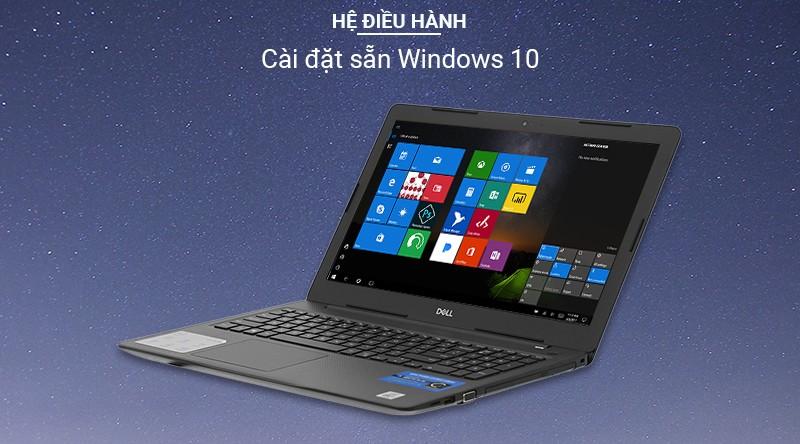 cài sẵn hệ điều hành Windows 10