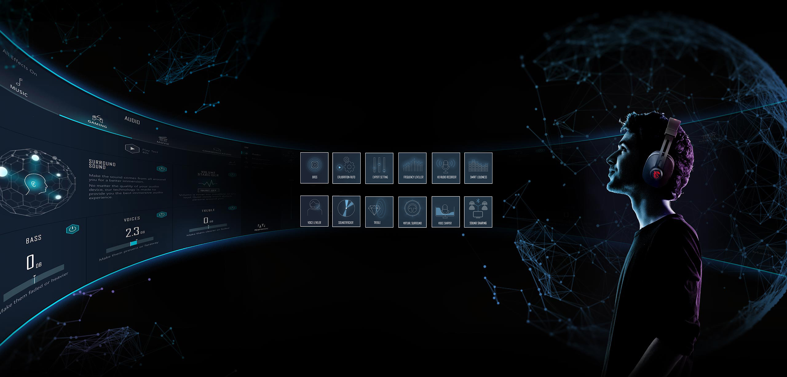 Âm thanh NAHIMIC 3 hoàn toàn mới