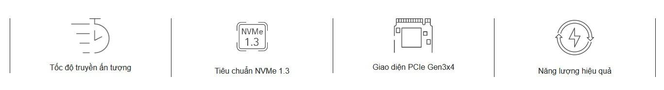 SSD NVMe Gen3x4 Lexar NM610 500GB