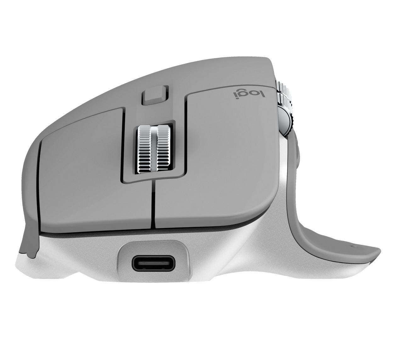 Logitech MX Master 3 Mid Grey Cuộn MagSpeed