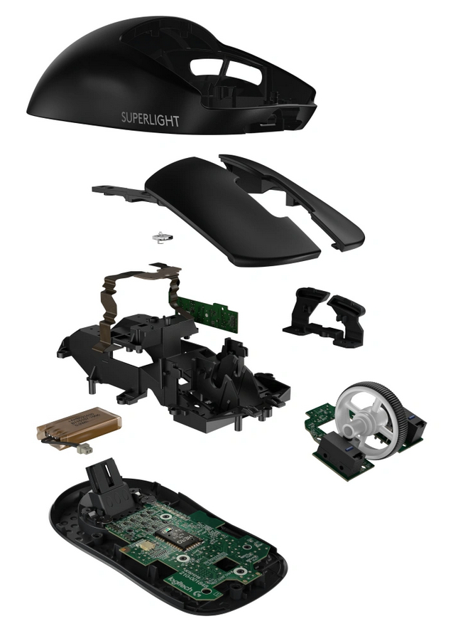 Logitech Pro X Superlight Black là bước đột phá về kỹ thuật