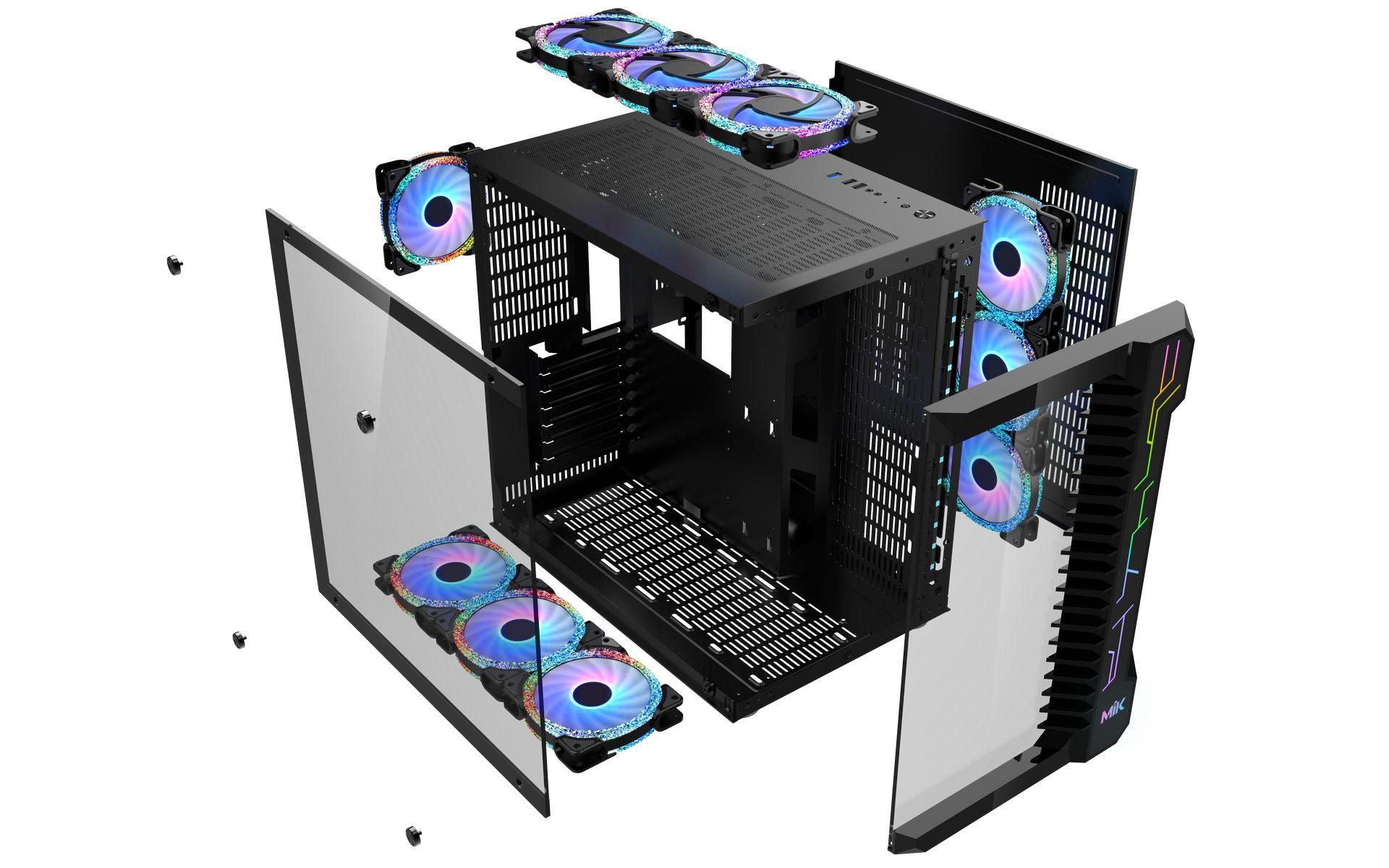 Vỏ Máy Tính MIK LV07 BLACK