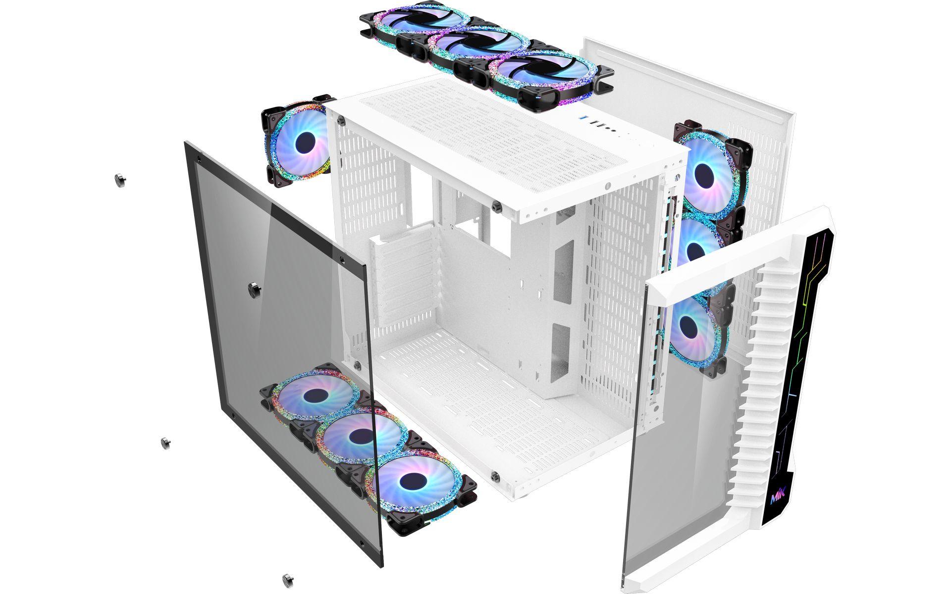 Vỏ Máy Tính MIK LV07 WHITE