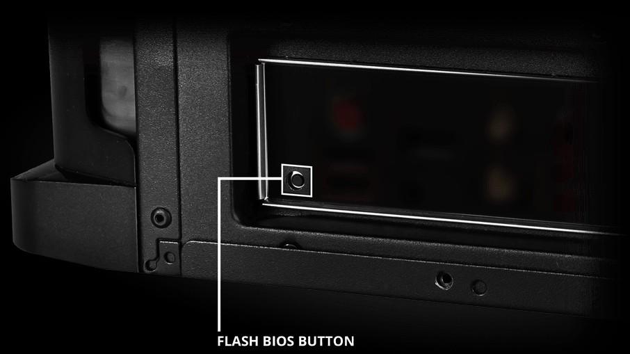Phục hồi bios dễ dàng với Nút Flash BIOS