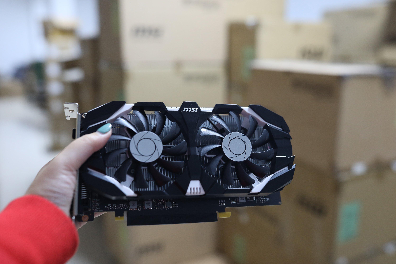 MSI GTX 1050 Ti 4GB GDDR5 OC V1 b