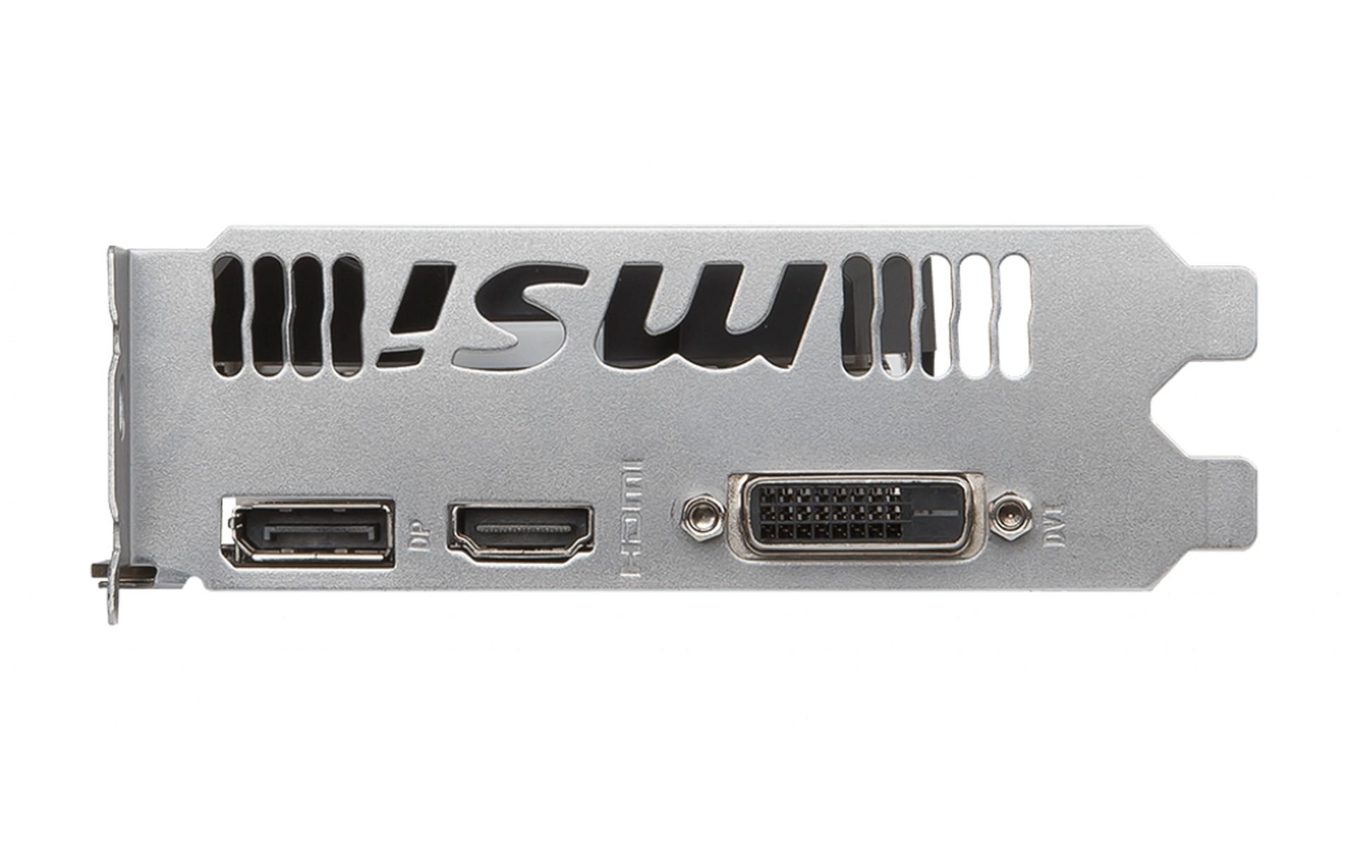 Card Màn Hình MSI GTX 1050 Ti 4GB GDDR5 OC V1 được xây dụng dựa trên kiến trúc Pascal