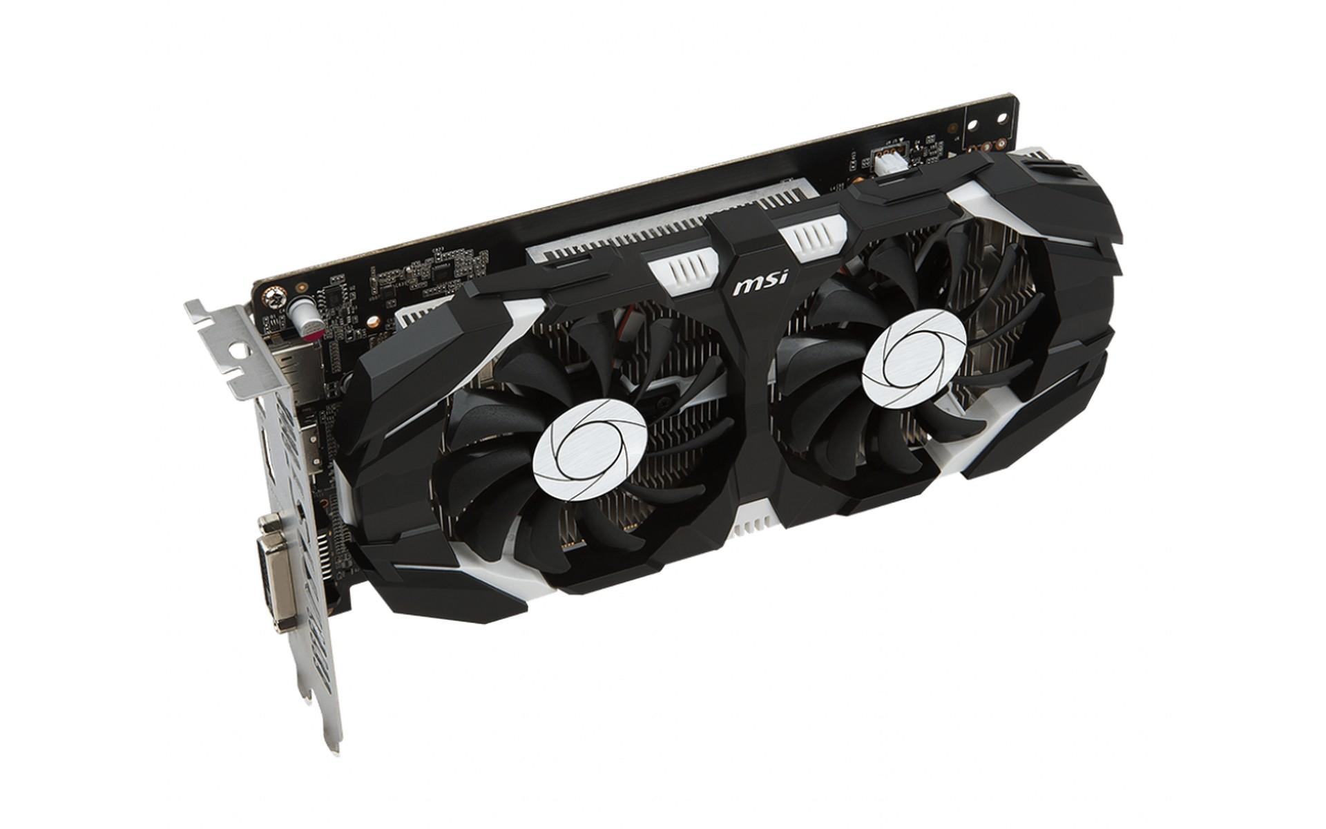 MSI GTX 1050 Ti 4GB GDDR5 OC V1 chỉ sử dụng các thành phần được chứng nhận MIL-STD-810G