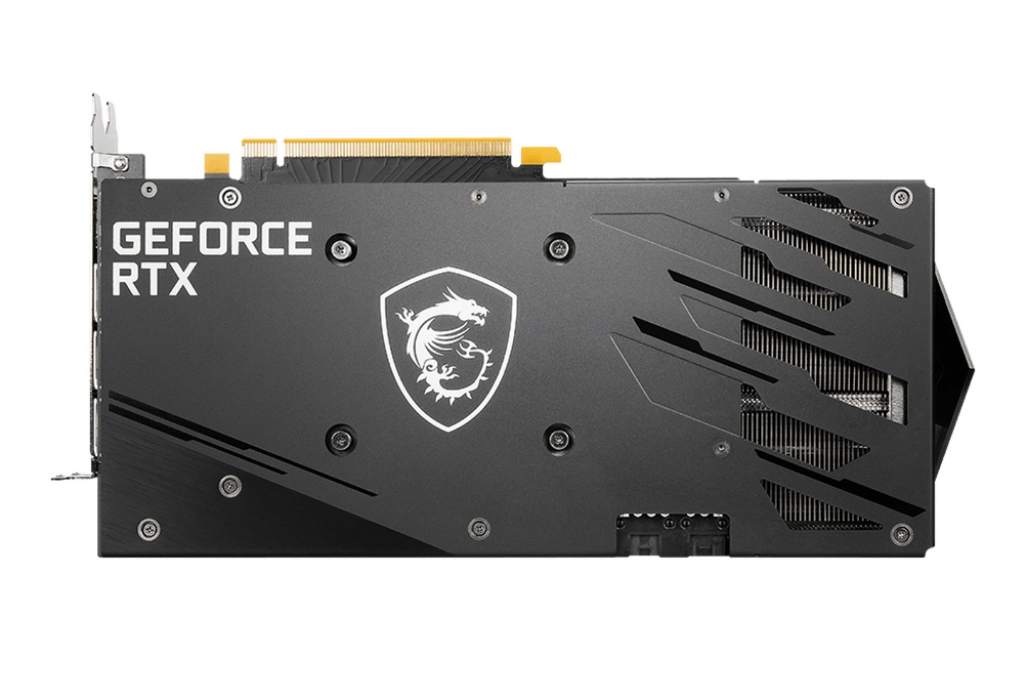 GeForce RTX 3060 GAMING X 12G Backplate