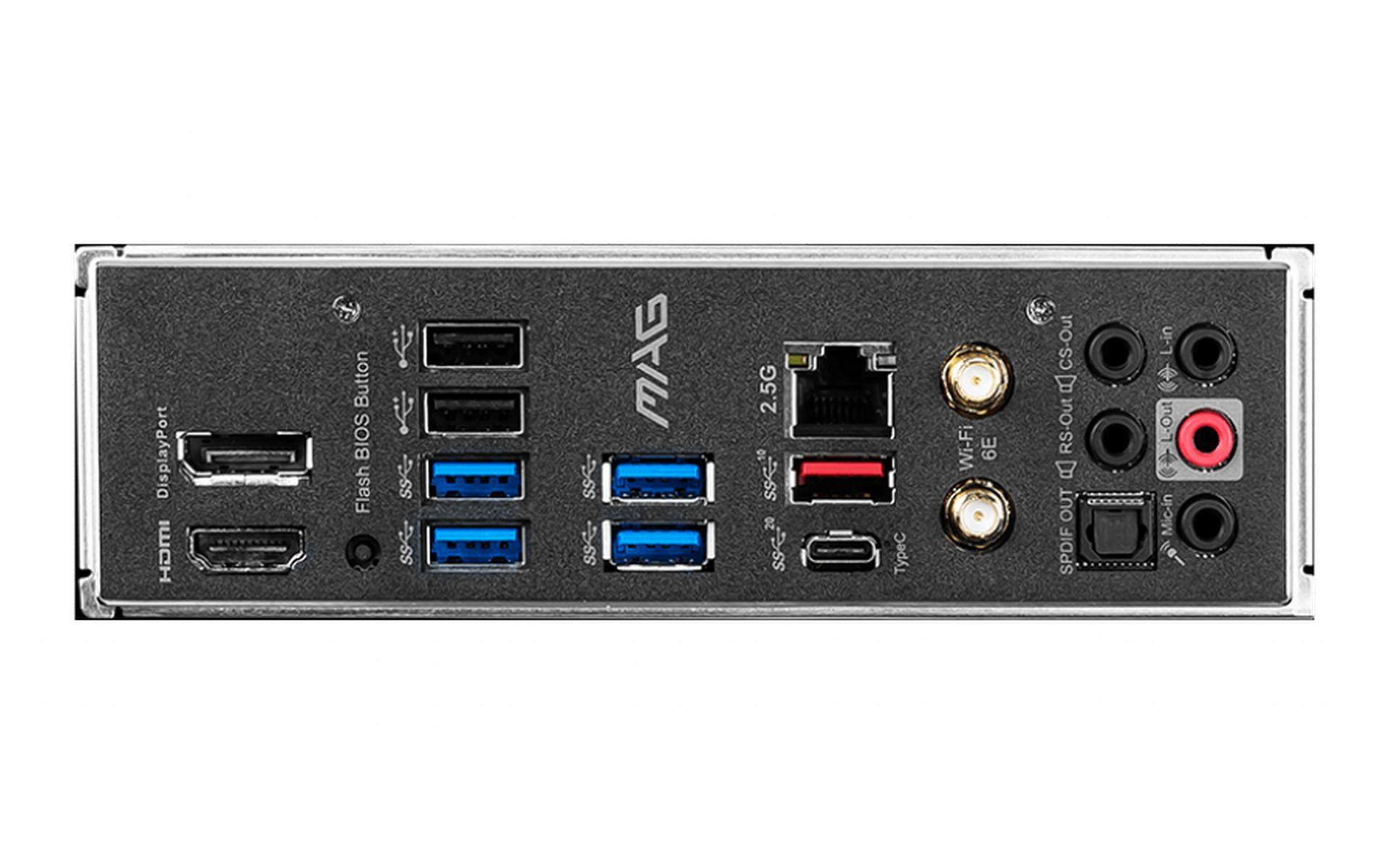 MSI MAG Z590 TOMAHAWK WIFI USB 3.2 GEN 2x2 20G