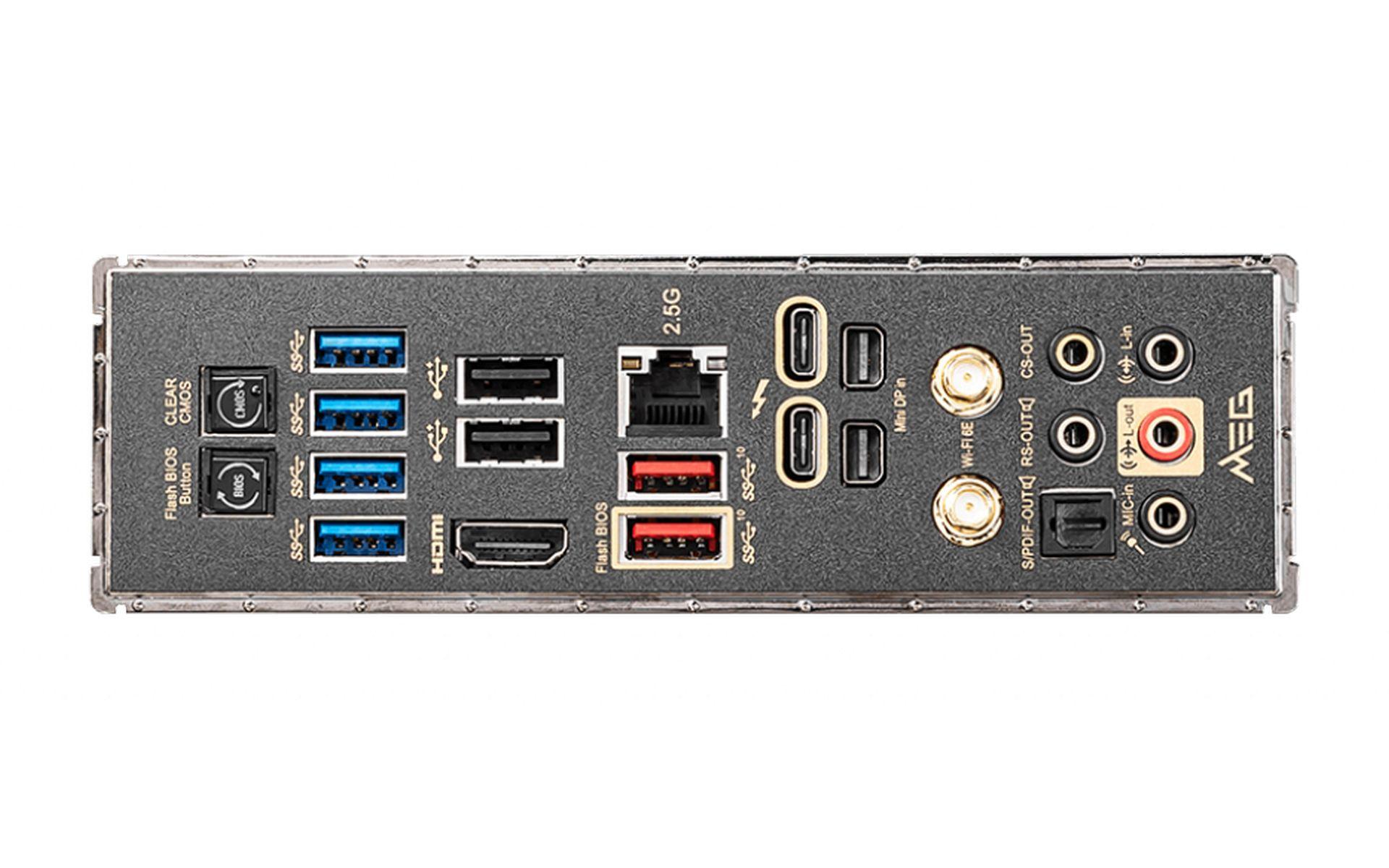 Mainboard MSI MEG Z590 ACE THUNDERBOLT 4