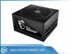 Nguồn máy tính MSI MPG-A650GF - 650W - 80 PLUS GOLD - Full Modular