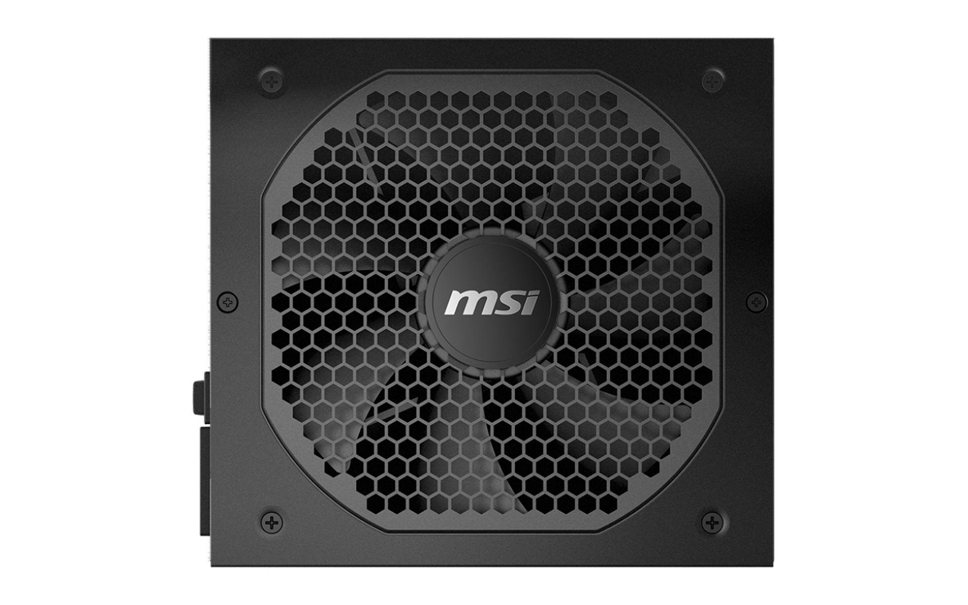 Nguồn máy tính MSI MPG A850GF - 850W - 80 PLUS GOLD