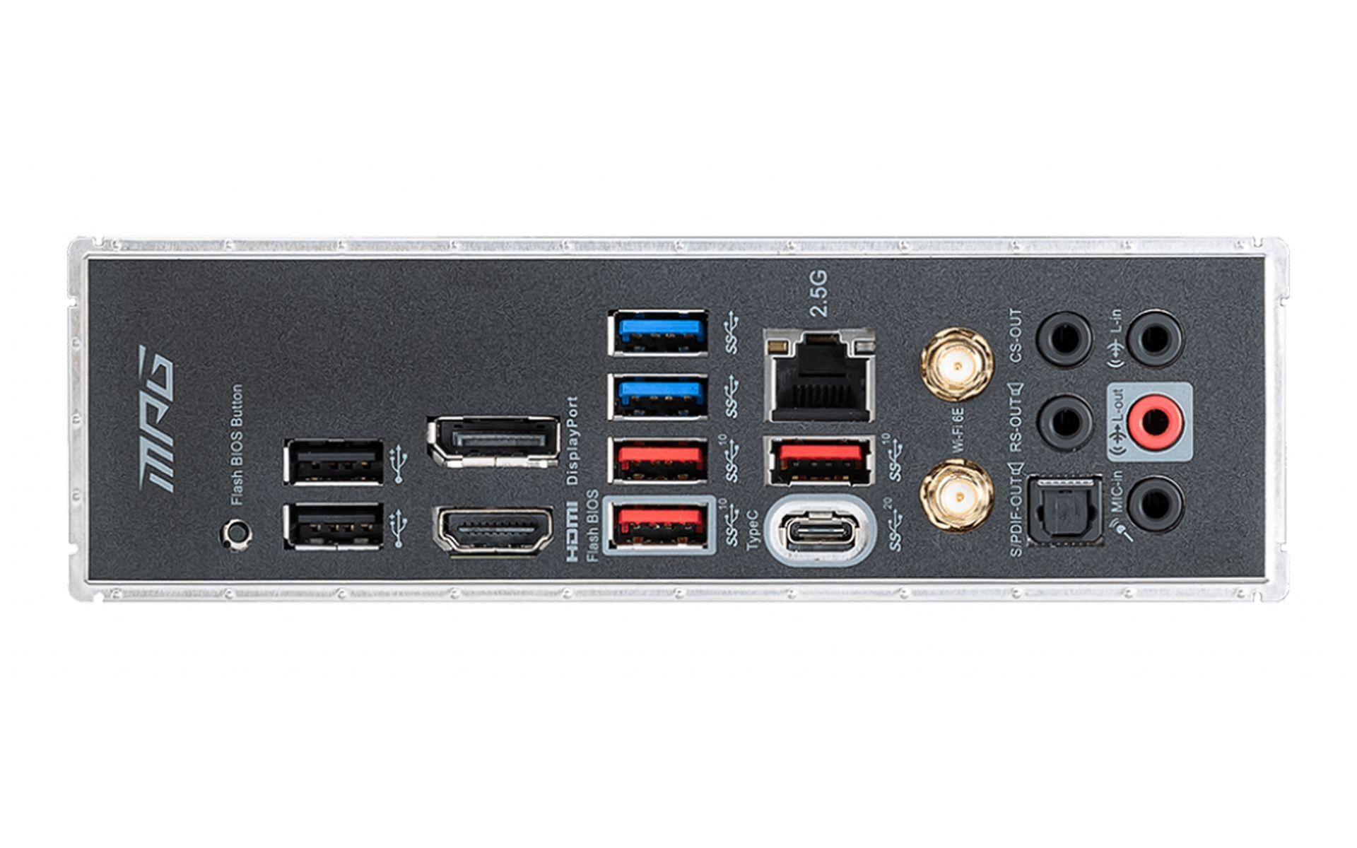bo mạch chủ MSI MPG Z590 GAMING EDGE WIFI IO