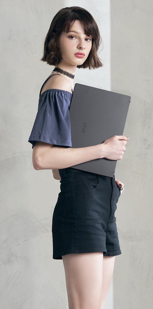 Laptop MSI Modern 14 B11SB 244VN với kiểu dáng hiện đại