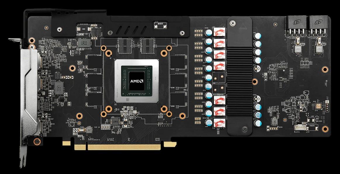 Thiết kế PCB RX5600 XT GAMING MX