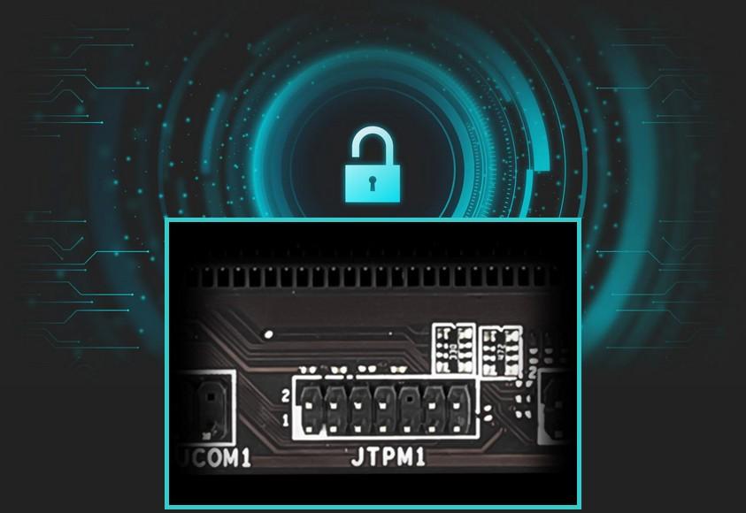 MSI A520M PRO-C DASH hỗ trợ TPM