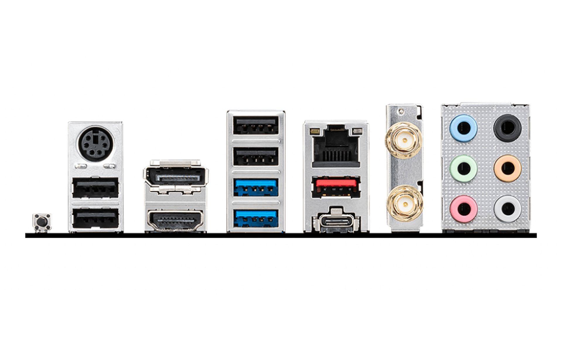 Mainboard MSI Z590 PRO WIFI Tối đa hóa hiệu suất USB