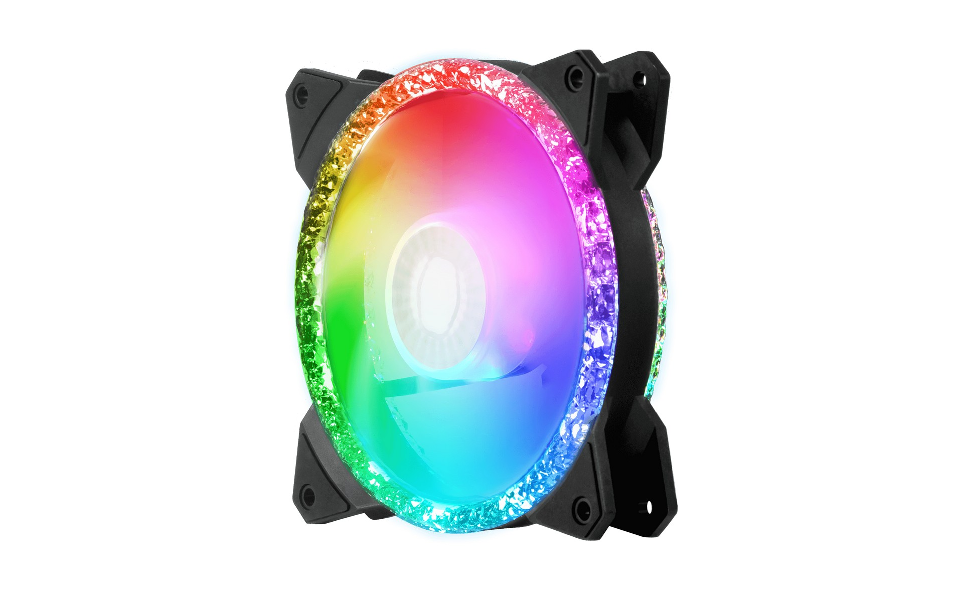 Cooler Master MasterFan MF120 Prismatic được trang bị 24 bóng LED ARGB
