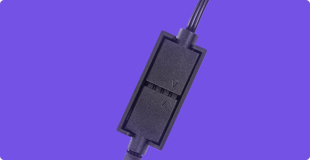 Ngàm ARGB đính kèm đảm bảo kết nối chắc chắn