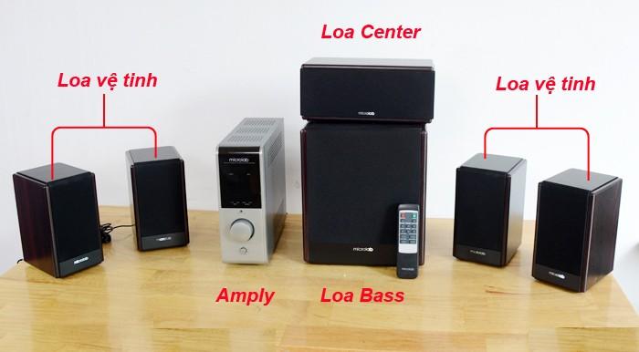 Loa Microlab FC730 âm thanh 5.1