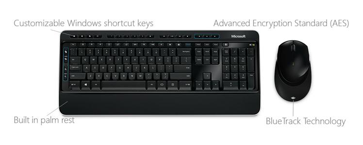 Bàn phím Microsoft 3050