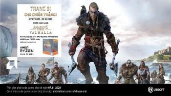 Mua CPU AMD nhận code game Assassin's Creed Valhalla 07/2020