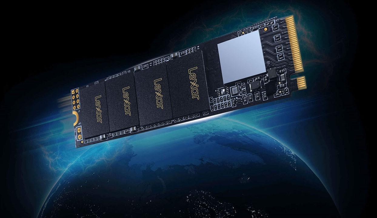 Lexar NM610 M.2 2280 PCIe Gen3x4 NVMe