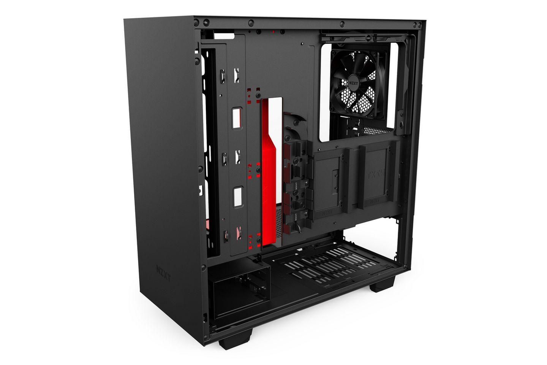 NZXT H500 Matte Black Red