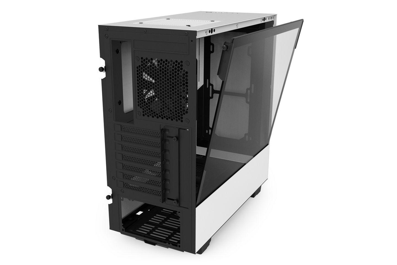 NZXT H500 Matte White cung cấp nhiều không gian để làm mát