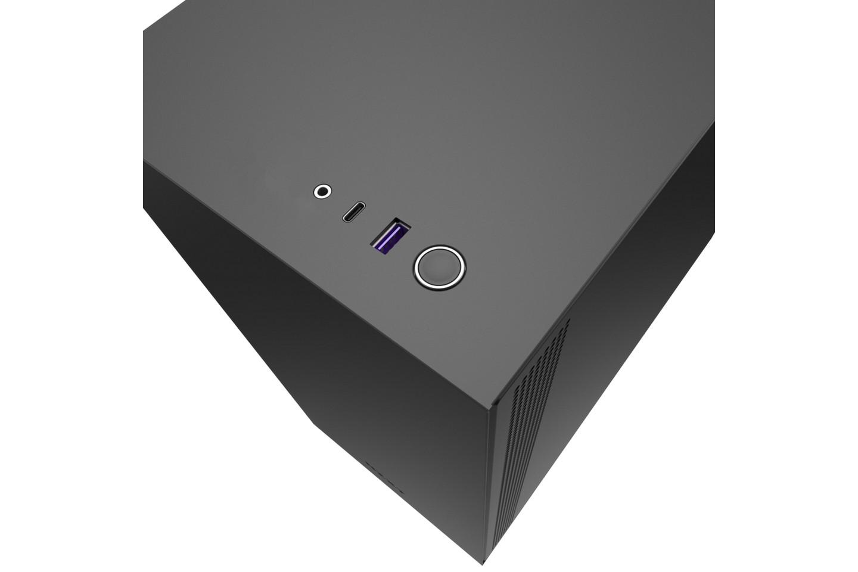 NZXT H510 Matte Black Red USB-C
