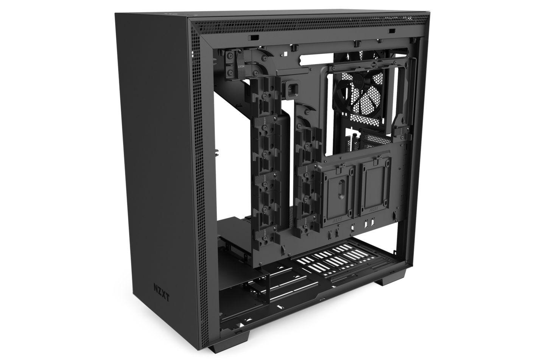 NZXT H710i Smart Matte Black có các cải tiến về thiết kế