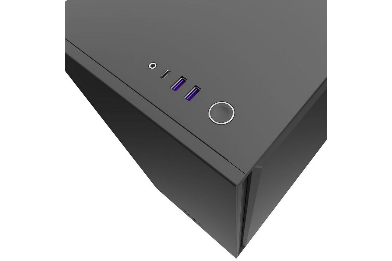 NZXT H710i Smart Matte Black với đầu nối USB-C