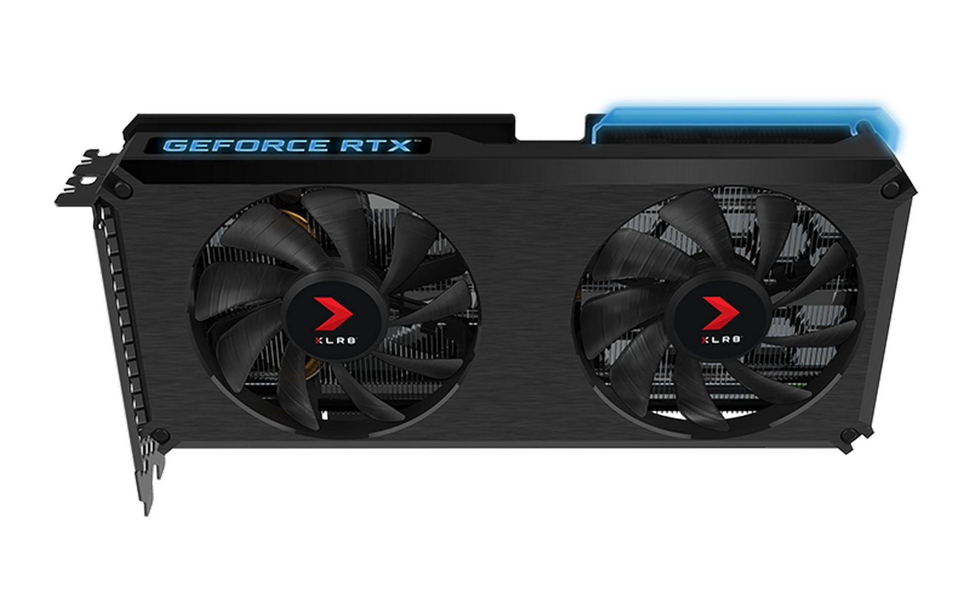 Card Màn Hình PNY GeForce RTX 3060 12GB XLR8 Gaming REVEL EPIC-X RGB Dual Fan Edition