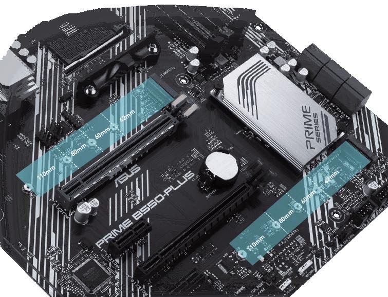 PRIME B550-PLUS có Khe cắm M.2 PCIe 4.0