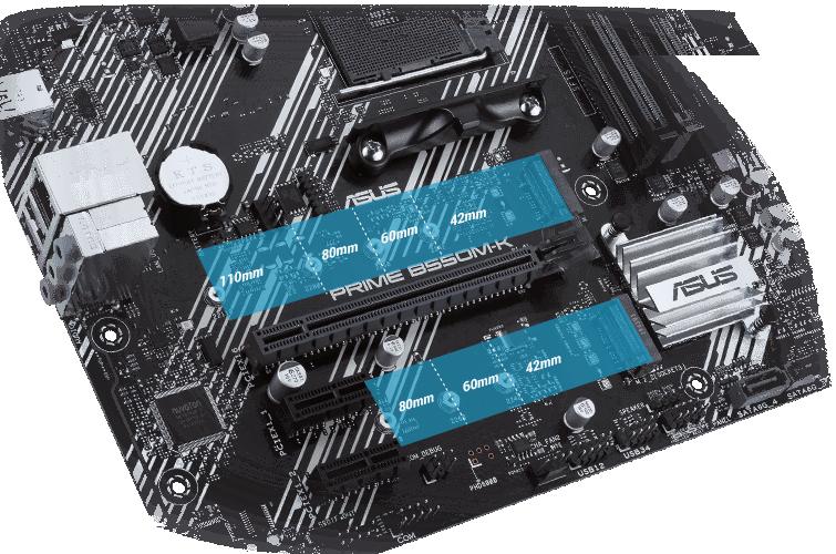 M.2 PCIe 4.0 (tối đa 64 Gbps)