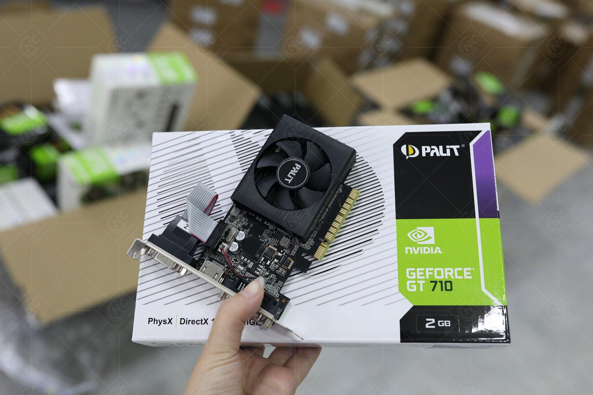 Palit GeForce GT 710 (2048MB DDR3)